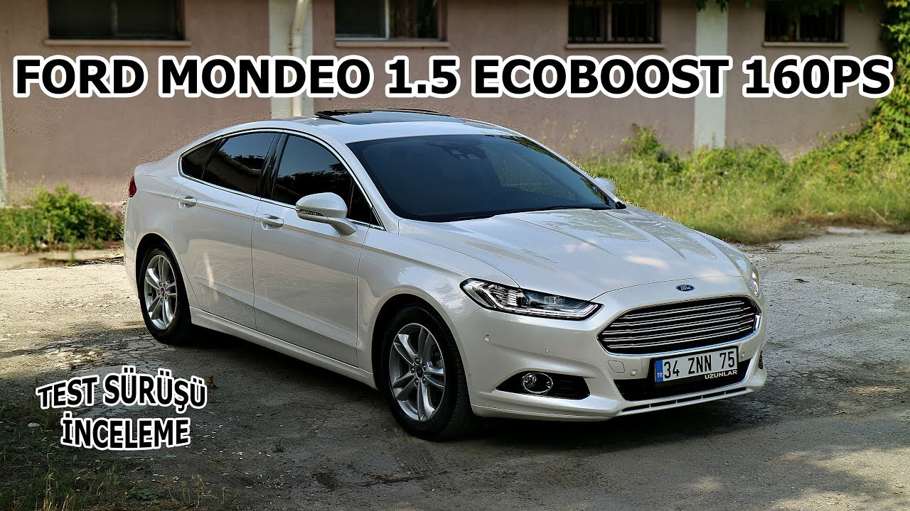 yeni ford mondeo 1 5 ecoboost 160 ps test s r. Black Bedroom Furniture Sets. Home Design Ideas