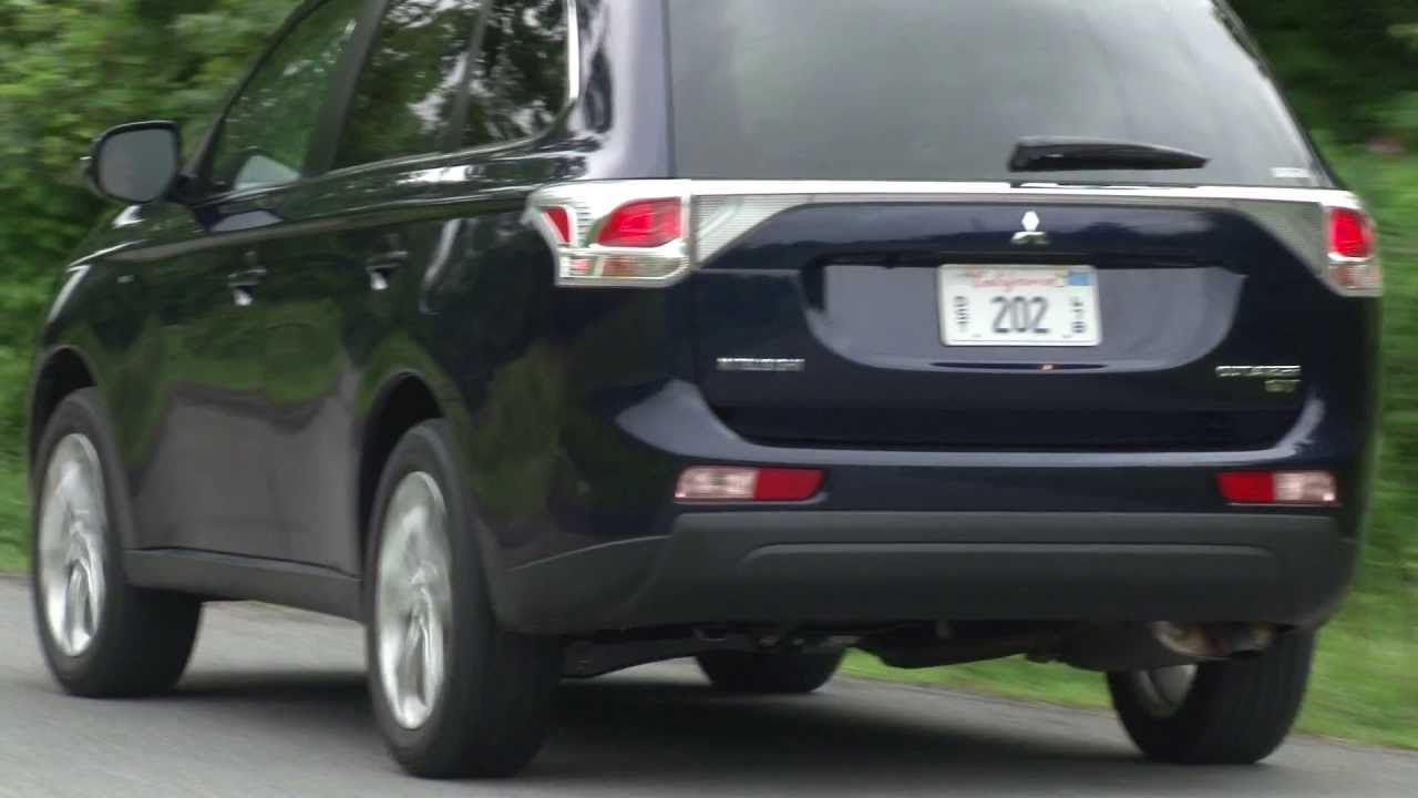 Delightful 2014 Mitsubishi Outlander GT   Drive Time Review With Steve Hammes |  TestDriveNow