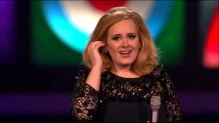Download Adele wins Best Album of the year - Brit Awards 2012 HD Mp3 and Videos