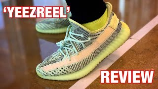 YEEZY BOOST 350 V2 'YEEZREEL' UNBOXING & ON-FEET REVIEW