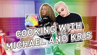 So we TRIED to bake a cake.. ft. Kris Fox! *Hilarious*
