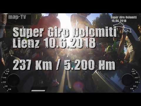 SuperGiroDolimiti 2018 Alpen Rennrad-Marathon