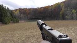 Glock 23 Suppressed with Silencerco Osprey 40 Silencer / Suppressor