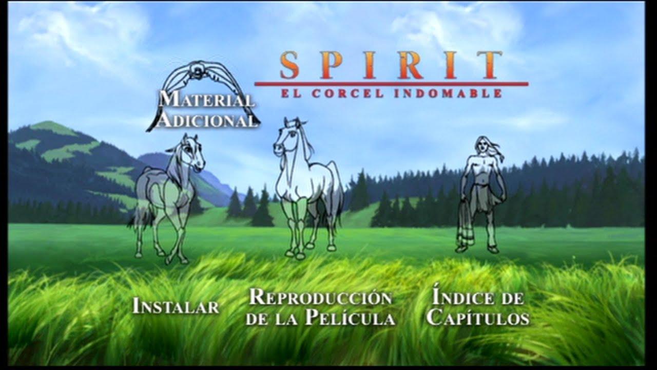 "Download ""Spirit: Stallion of The Cimarron"" Main Menu - Menu Principal"