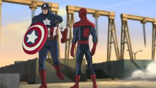 "Marvel's Ultimate Spider-Man: Web Warriors Episode 1 Preview ""The Avenging Spider-Man: Part One"""