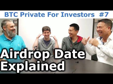 BTC Private For Investors #7 - Airdrop Date Explained - By Tai Zen, Leon Fu, & Rhett Creighton