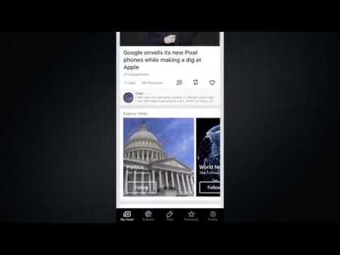 New Yahoo Newsroom News App Preview