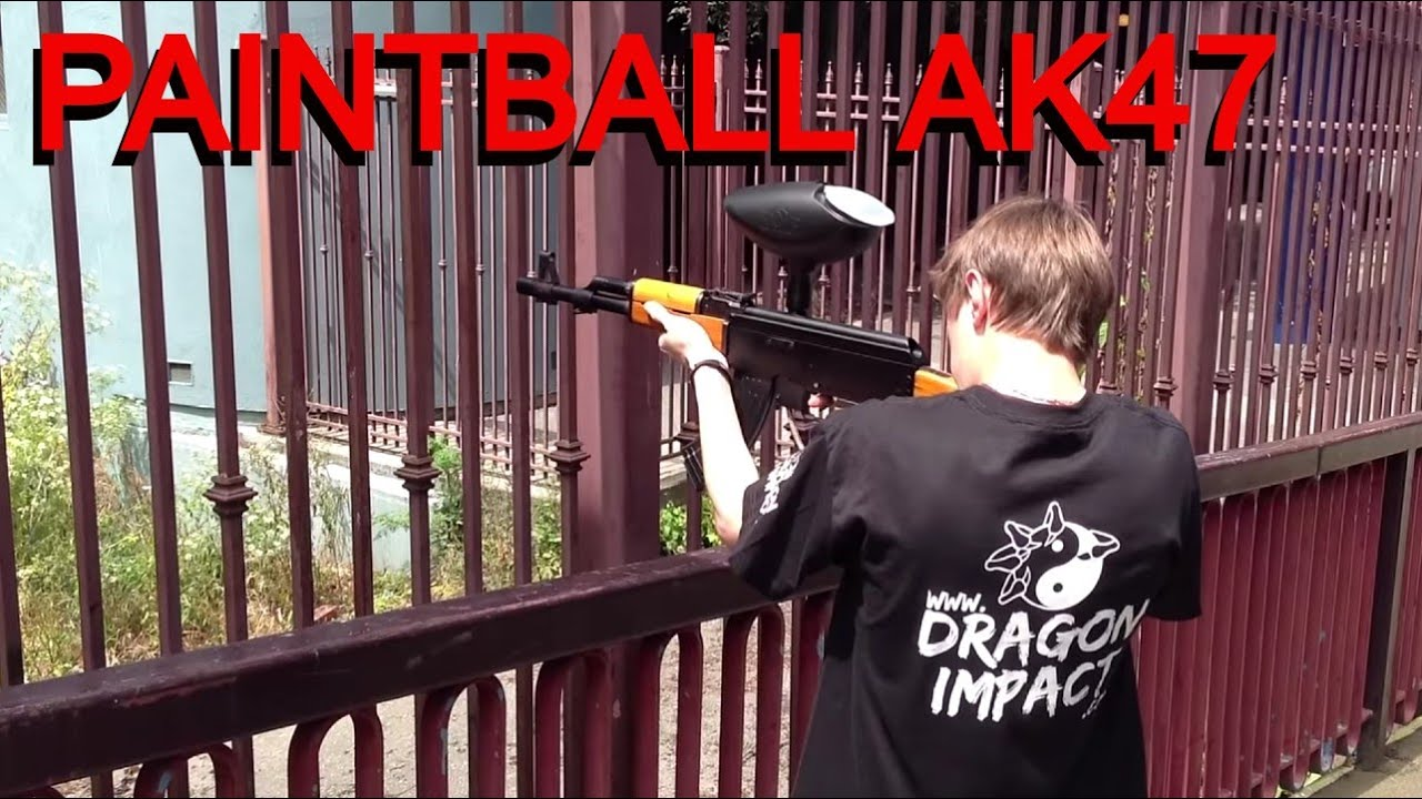 Consignment Furniture Paintball Ak47 Marker Youtube