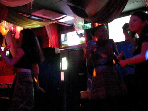 Karaoke Kristin Sweet 16 Don't Go Breaking My Heart Continued