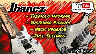 Ibanez Upgrade #Floydrose Neck #Sustainer Pickup