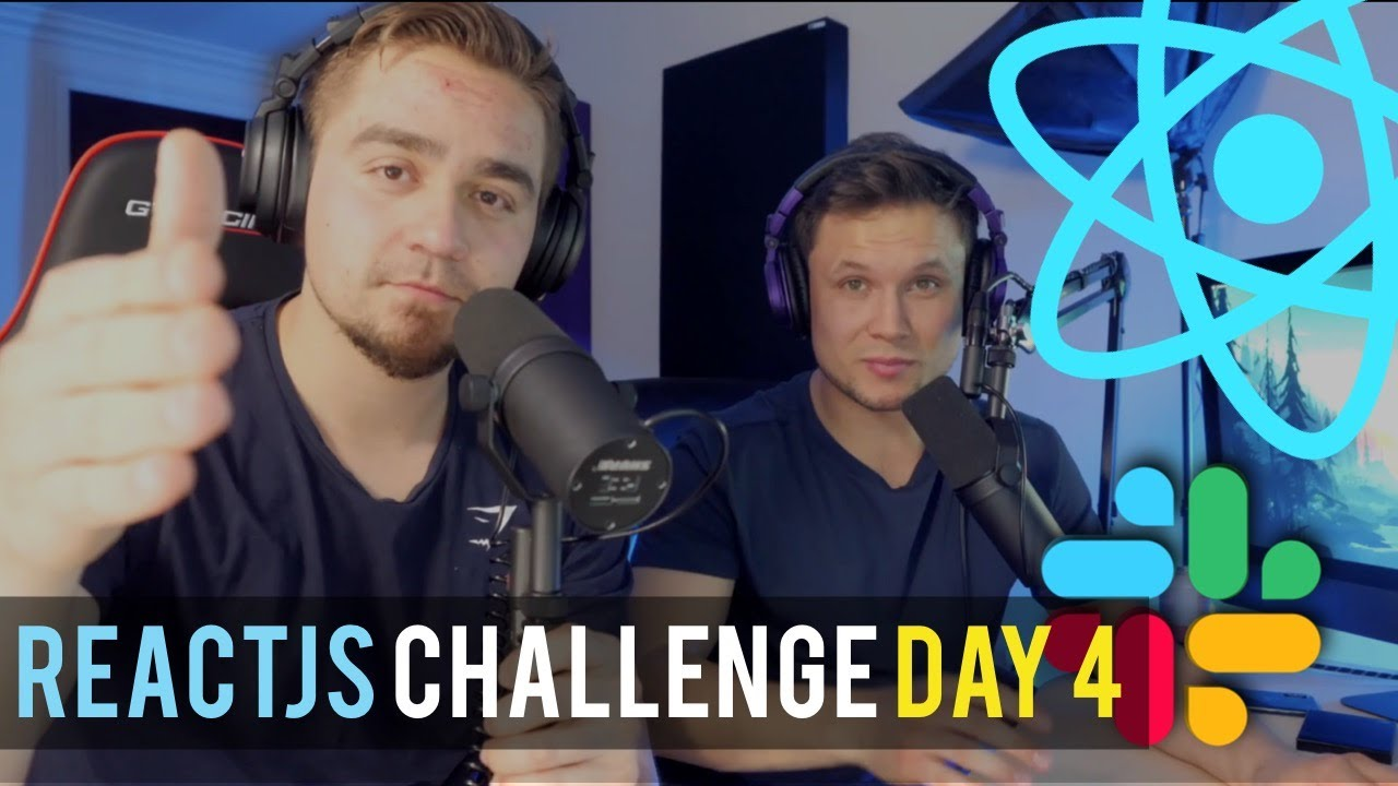 DAY 4: The 5 Day ReactJS Challenge | Let's Build a Slack Clone with REACT JS Part 3