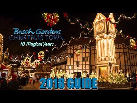 Christmas Town 2018 Guide | Busch Gardens Williamsburg