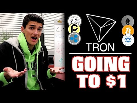 Why I Bought 50,000 Tron TRX Tokens! $1 Moonshot Price Prediction?