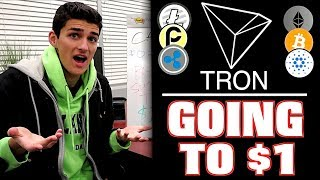 Why I Bought 50 000 Tron TRX Tokens! 1 Moonshot Price Prediction?