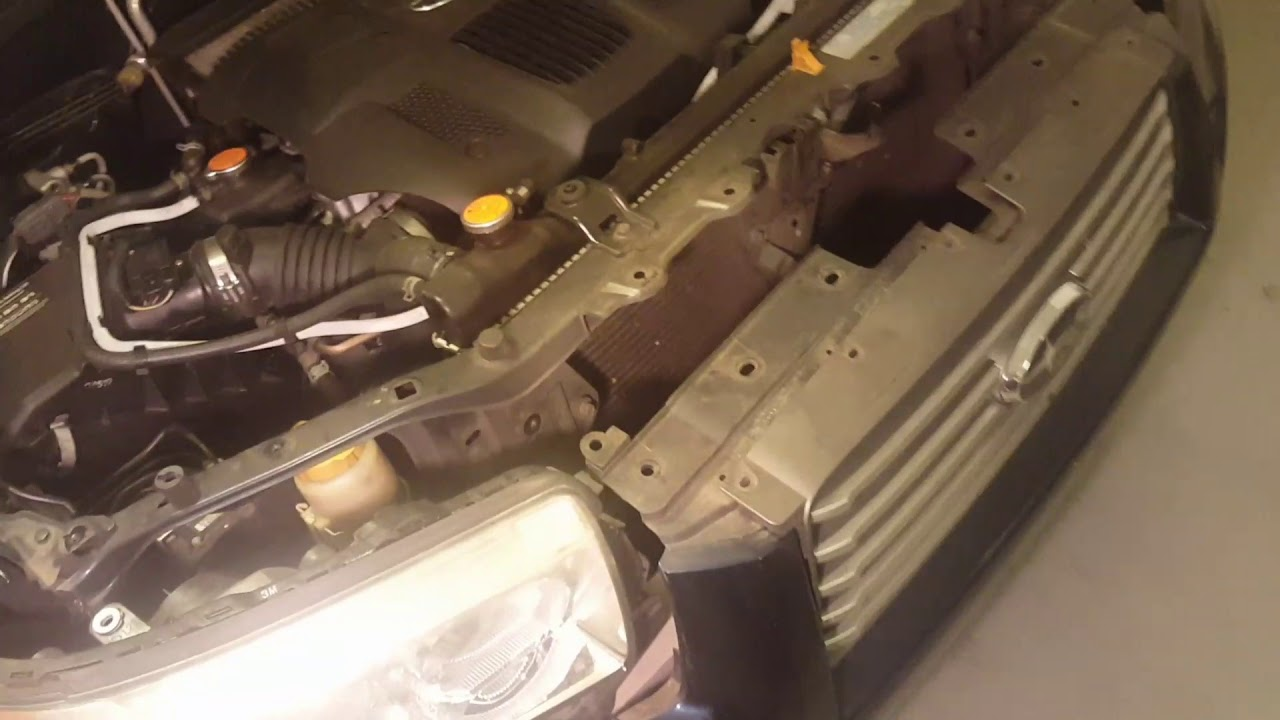 how to remove a 2006 2007 2008 forester headlight youtube subaru forester headlight wiring diagram  [ 1280 x 720 Pixel ]