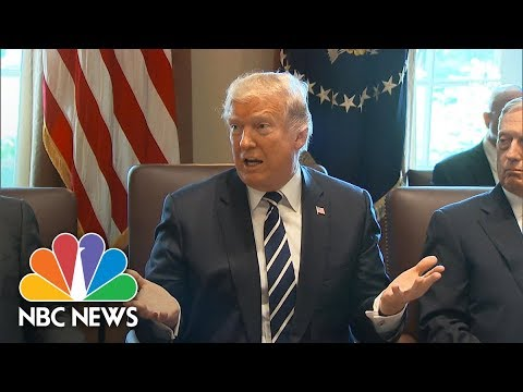 President Donald Trump Says He Can 'Understand Fully How Steve Bannon Feels' About GOP   NBC News