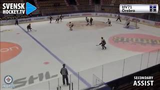 David Gustafsson 2A vs Orebro HK J20 | Oct 9 2018