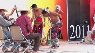 Pascola Yaqui, desarrollada durante las Fiestas de Abril en Caborca