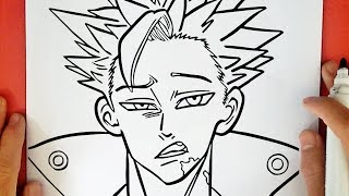 HOW TO DRAW BAN
