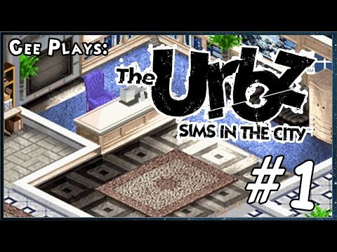 Cee plays Urbz: Sims in the City (GBA) #1 - Squeegee Cleaning