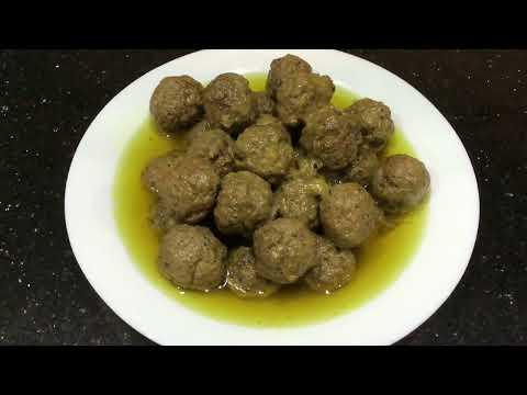 boulettes-de-viande-hachÉe-(بنادق-اللحم-التونسية-(كرات-اللحم-المفروم