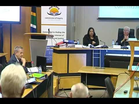 Marikana Commission of Inquiry, 4 September 2014: Session 3
