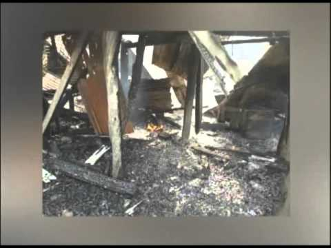 House destroyed by fire in Dangriga