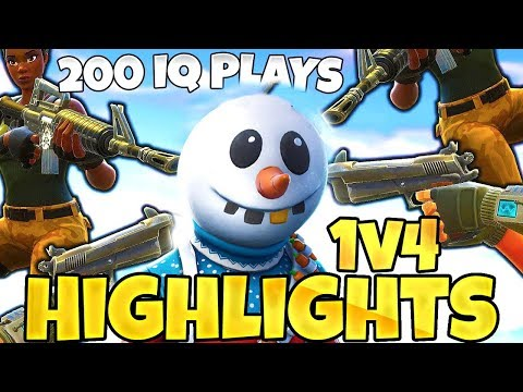 1v4 CLUTCH | 200IQ PLAYS Fortnite Best Moments | Funny Fails & Twitch Highlights