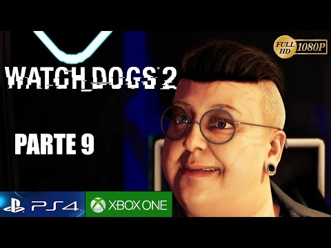 WATCH DOGS 2 Parte 9 Gameplay Español PS4 PRO | Guerra de Hackers - Walkthrough 1080p