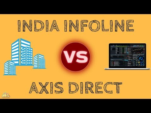 India Infoline (IIFL) Vs Axis Direct - Detailed Comparison of Stock Brokers