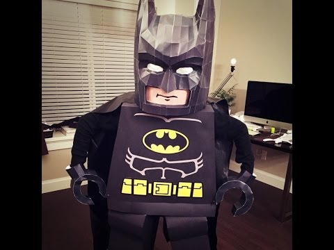 The lego movie batman costume youtube the lego movie batman costume solutioingenieria Image collections