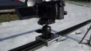 Camera Slider - Mit E-motor Do It Yourself Dolly