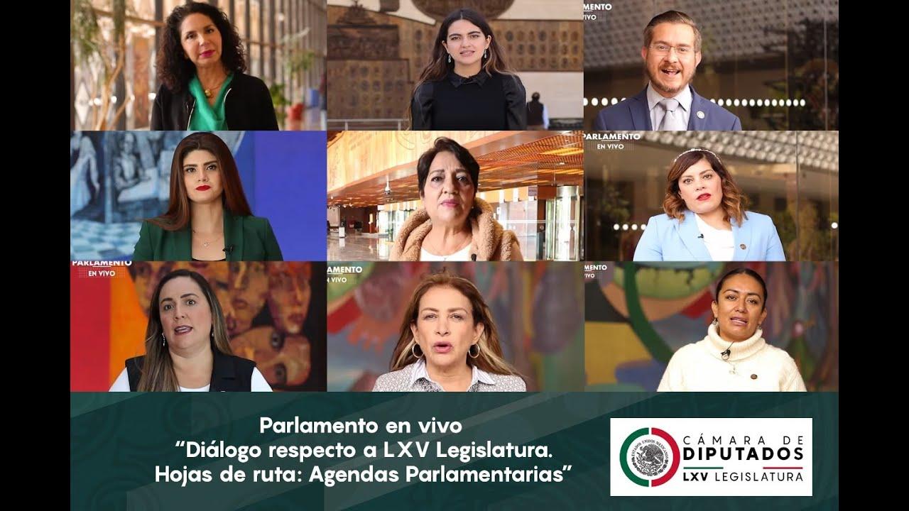 Parlamento en vivo / Diálogo respecto a LXV Legislatura. Hojas de ruta: Agendas Parlamentarias
