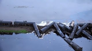 Crude oil spill cleanup continues in Iowa