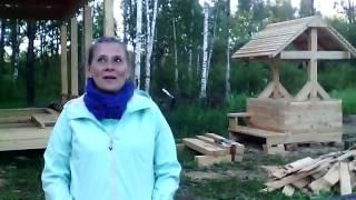 Брусовой дом 9×12 м в деревне Рождественка Коломенского района Московской области