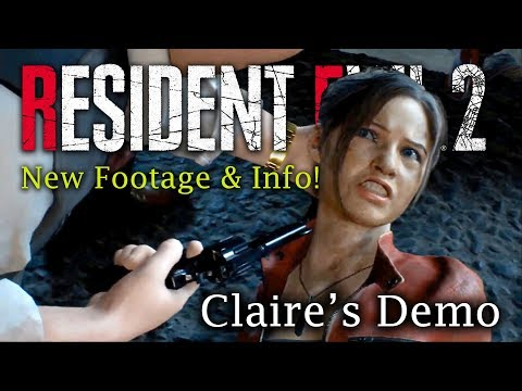 Resident Evil 2 Remake Claire Full Demo Analyzed | Birkin & Claire Death Scenes | New IRONS