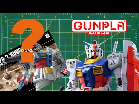 The REVISED Total Beginner's Guide to Gundam Models (Gunpla) Part 1:  Introduction