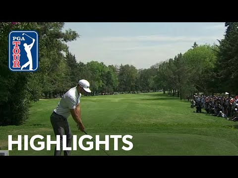 Dustin Johnson Round 3 highlights from WGC-Mexico 2019