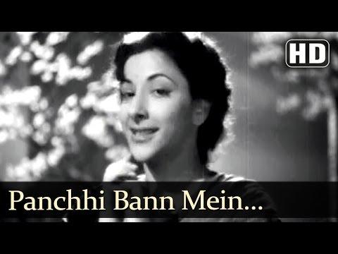Panchhi Bann Mein (HD) - Babul Songs - Dilip Kumar - Nargis -  Lata Mangeshkar - Filmigaane