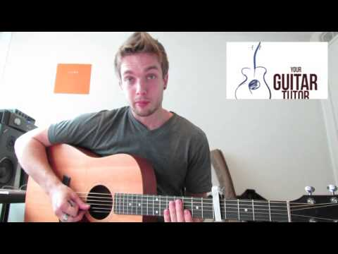 Union J Beautiful Life Guitar Lesson And Easy Chords Youtube