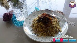 Блюдо из Булгура и Чечевицы, как правильно приготовить - постная кухня /Burghul  видео рецепт.