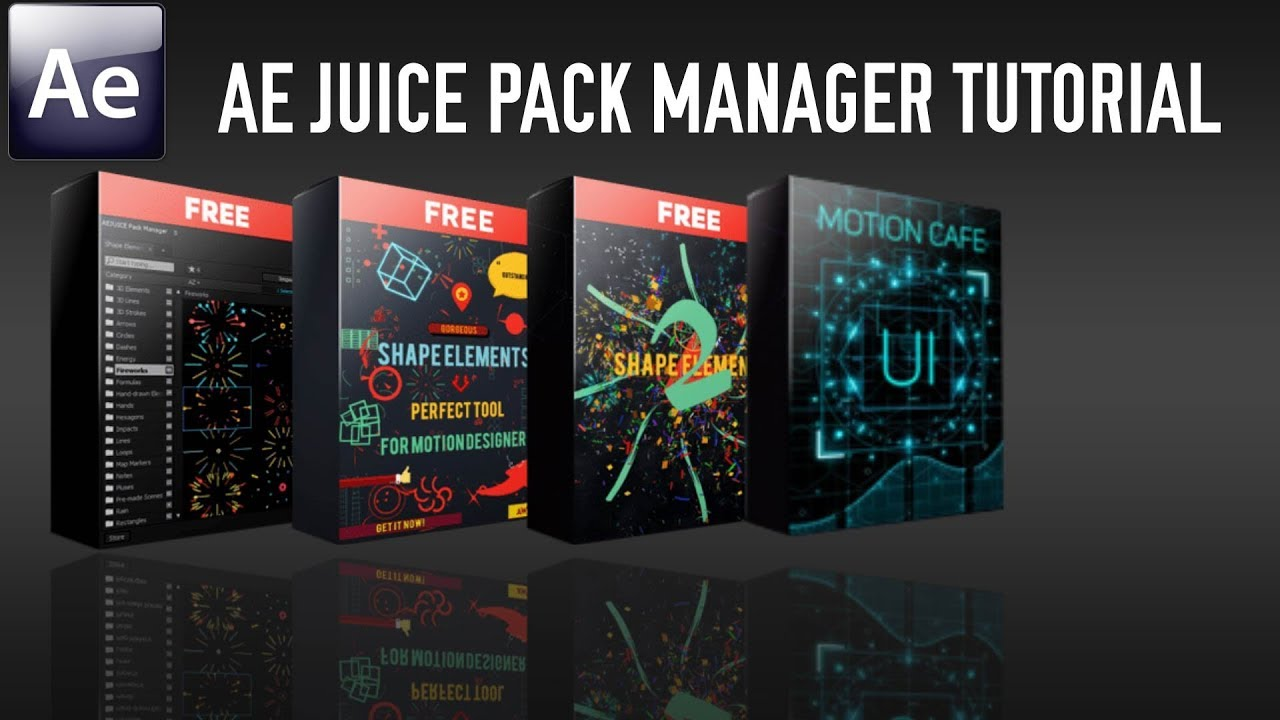 AEJuice Pack Manager Tutorial (Trial Version)