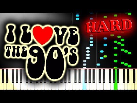 RUNNING IN THE 90S - Piano Tutorial