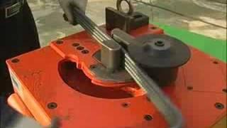 gensco tyb hd26 electric rebar bender