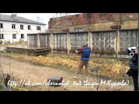 Как снимали чернобыль зона отчуждения за кадром видео