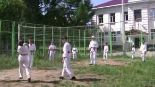 Детские тренировочные сборы по Айкидо