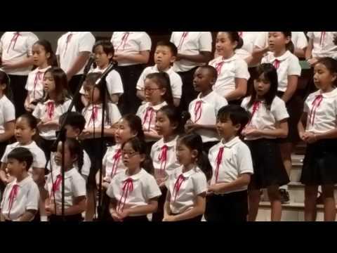Cahuenga Elementary School Korean Chorus!!!!!!?