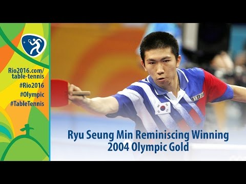Ryu Seung Min Reminiscing Winning 2004 Olympic Gold