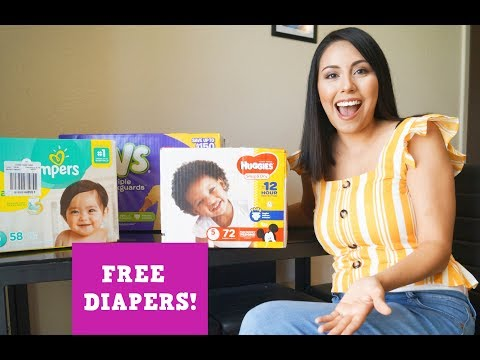 Ways to get Free Diapers for the Baby