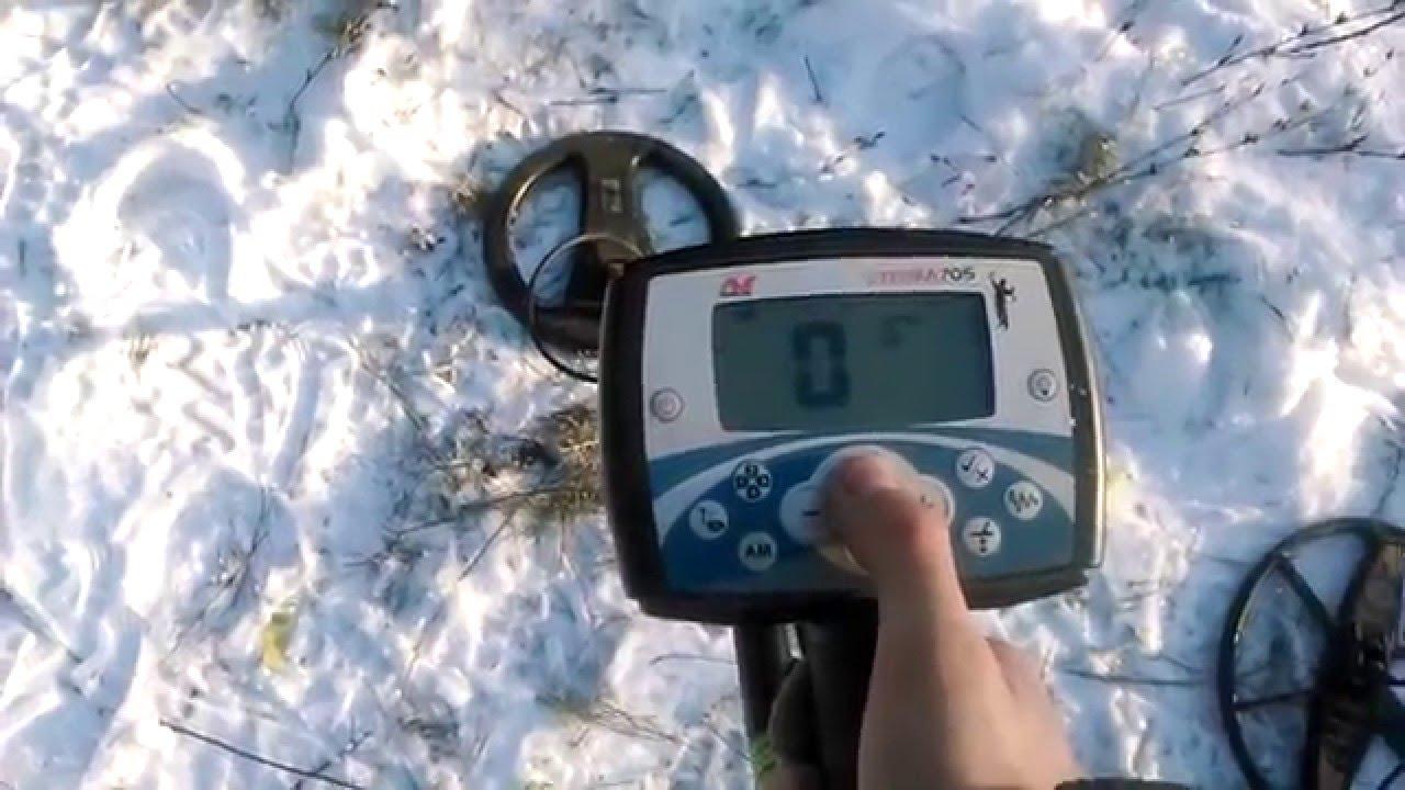 Тест катушек mars tiger на 2 частоты и катушки minelab 7.5 к.